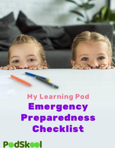 Learning Pod Emergency Checklist