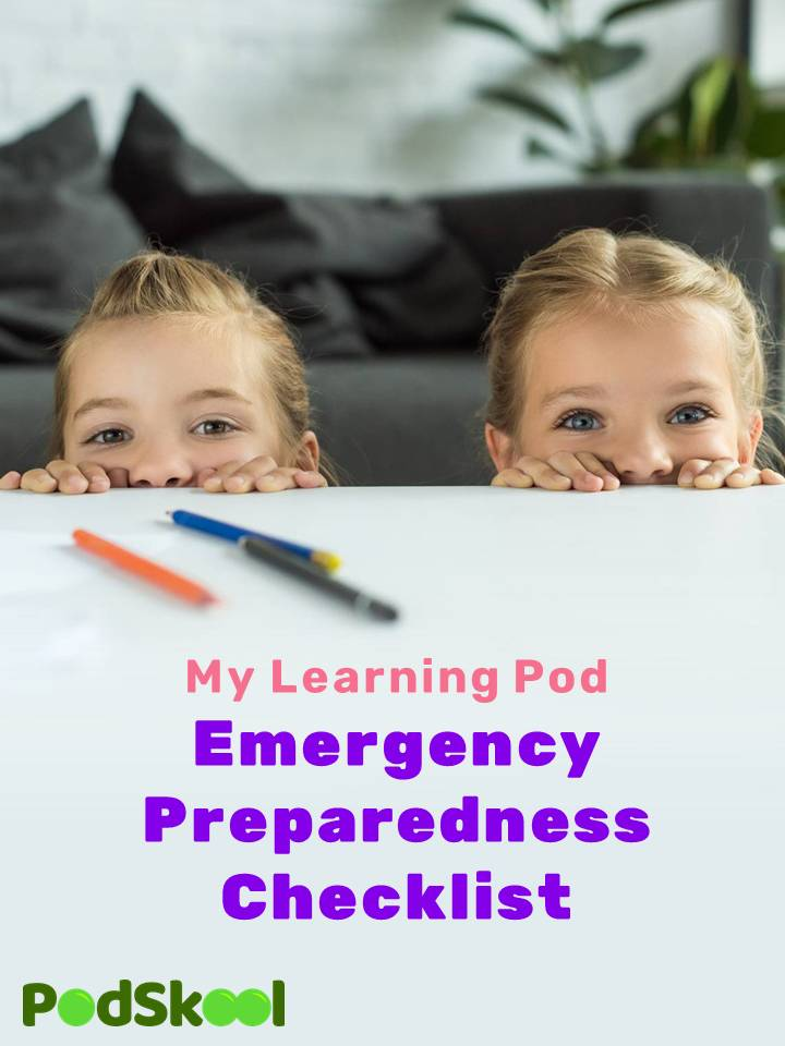 Learning Pod Emergency Checklist Cover